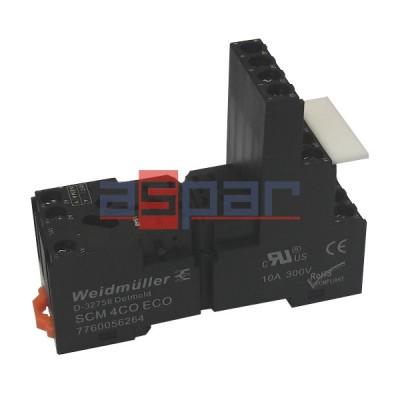 Relay, ZEST-DRM-24DC-4CO-5A-LED, 4CO, 5A, 24VDC