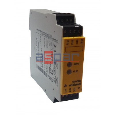 SNO4003K-A - safety relay 24V AC/DC, R1.188.0500.1