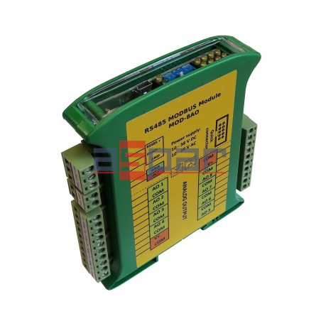 8 wyj. analogowych uniwersalnych MOD-8AO
