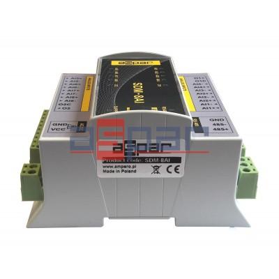 8 wej. analogowych uniwersalnych SDM-8AI