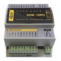 16 wyjść przekaźnikowych SDM-16RO