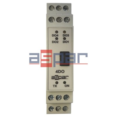 4 digital outputs MOD-4DO