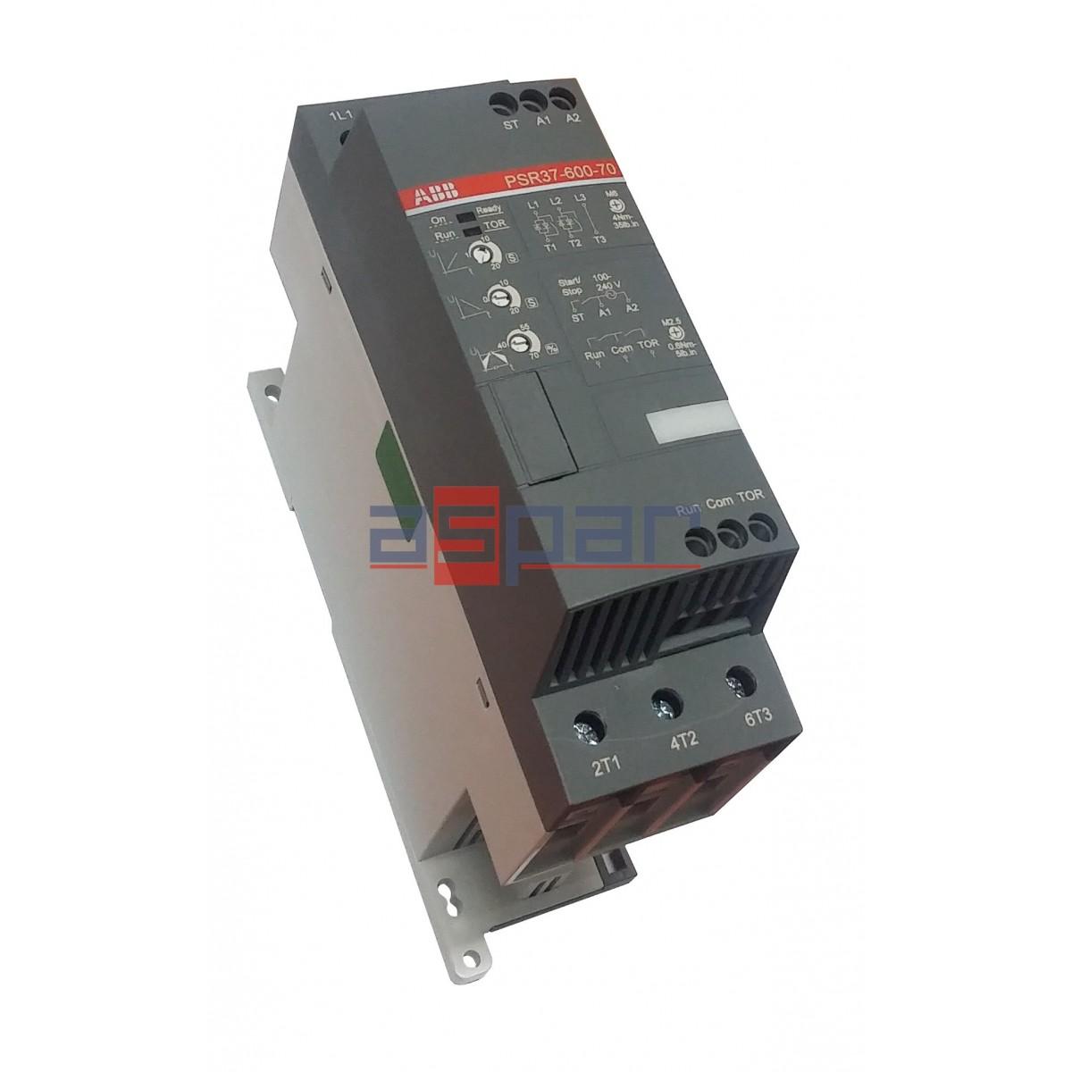 PSR37-600-70, Softstart 18,5kW on