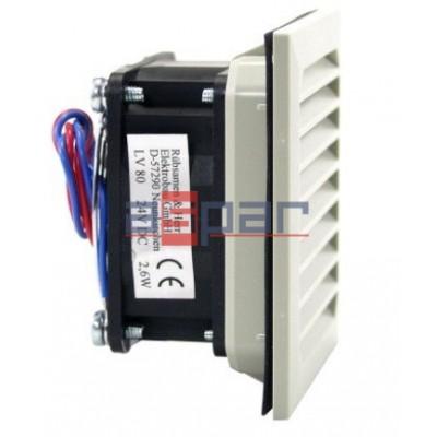 LV 80 230VAC - wentylator filtrujący, 80 x 80mm