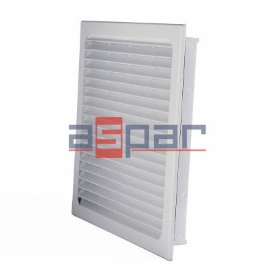 GV 600/700 - exhaust grille with filter, 323 x 323mm
