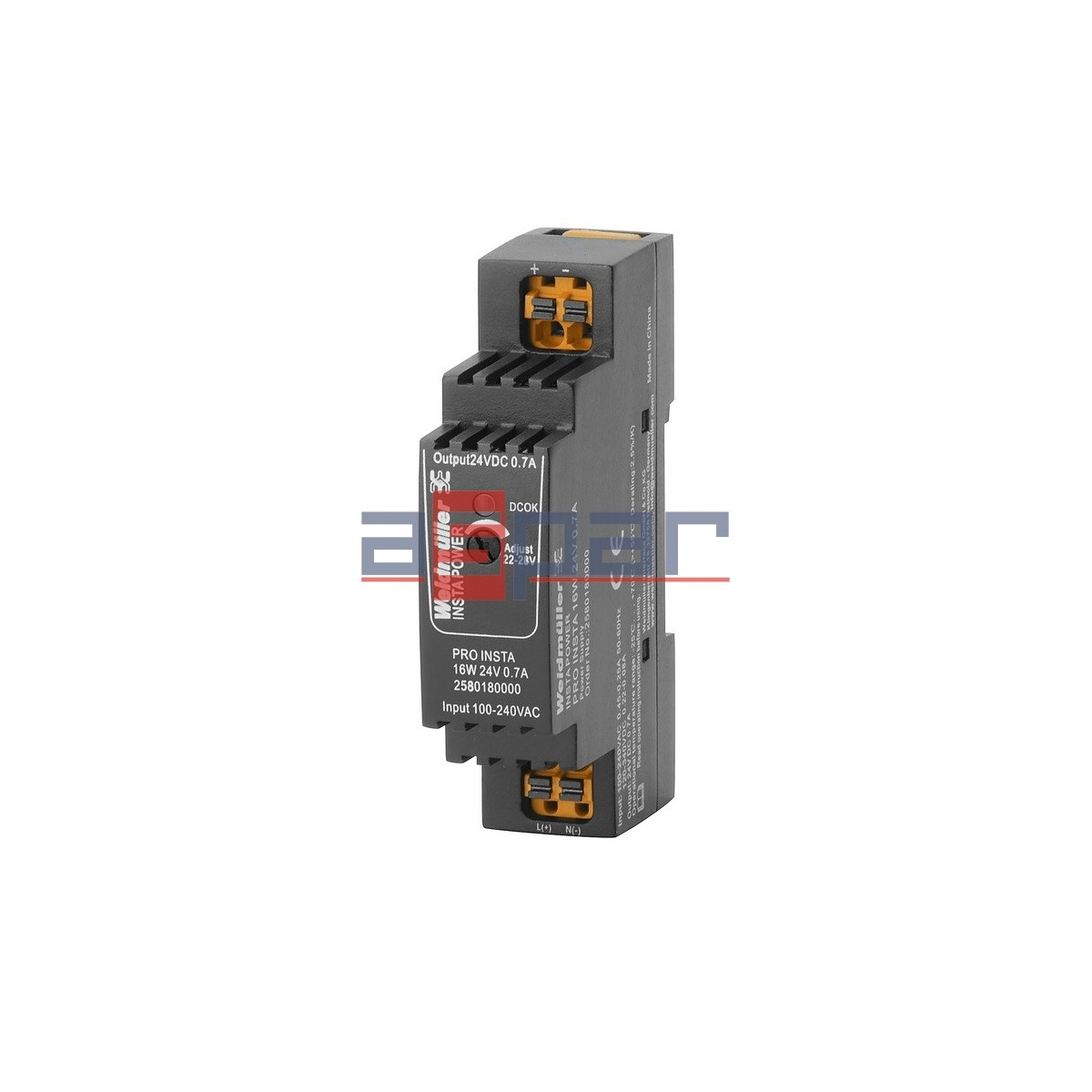 switch-mode power supply unit, 24 V, PRO INSTA 16W 24V 0.7A