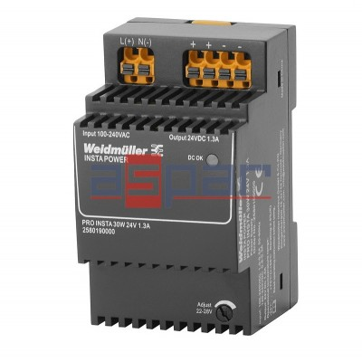 switch-mode power supply unit, 24 V, PRO INSTA 30W 24V 1.3A