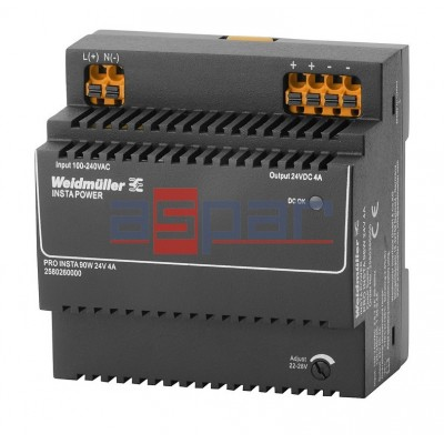 switch-mode power supply unit, 24 V, PRO INSTA 96W 24V 4A (2580260000)