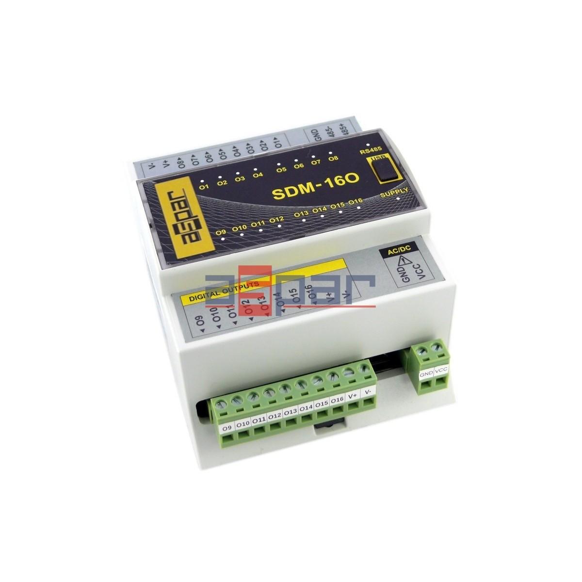 SDM-16O-PNP - 16 wyjść cyfrowych