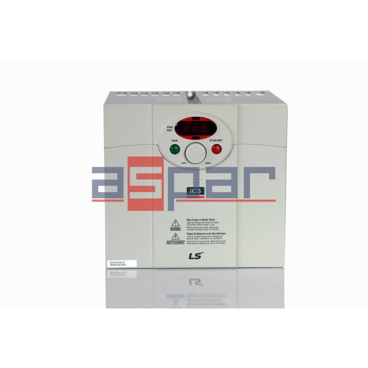 SV015iC5-1F - 1,5kW