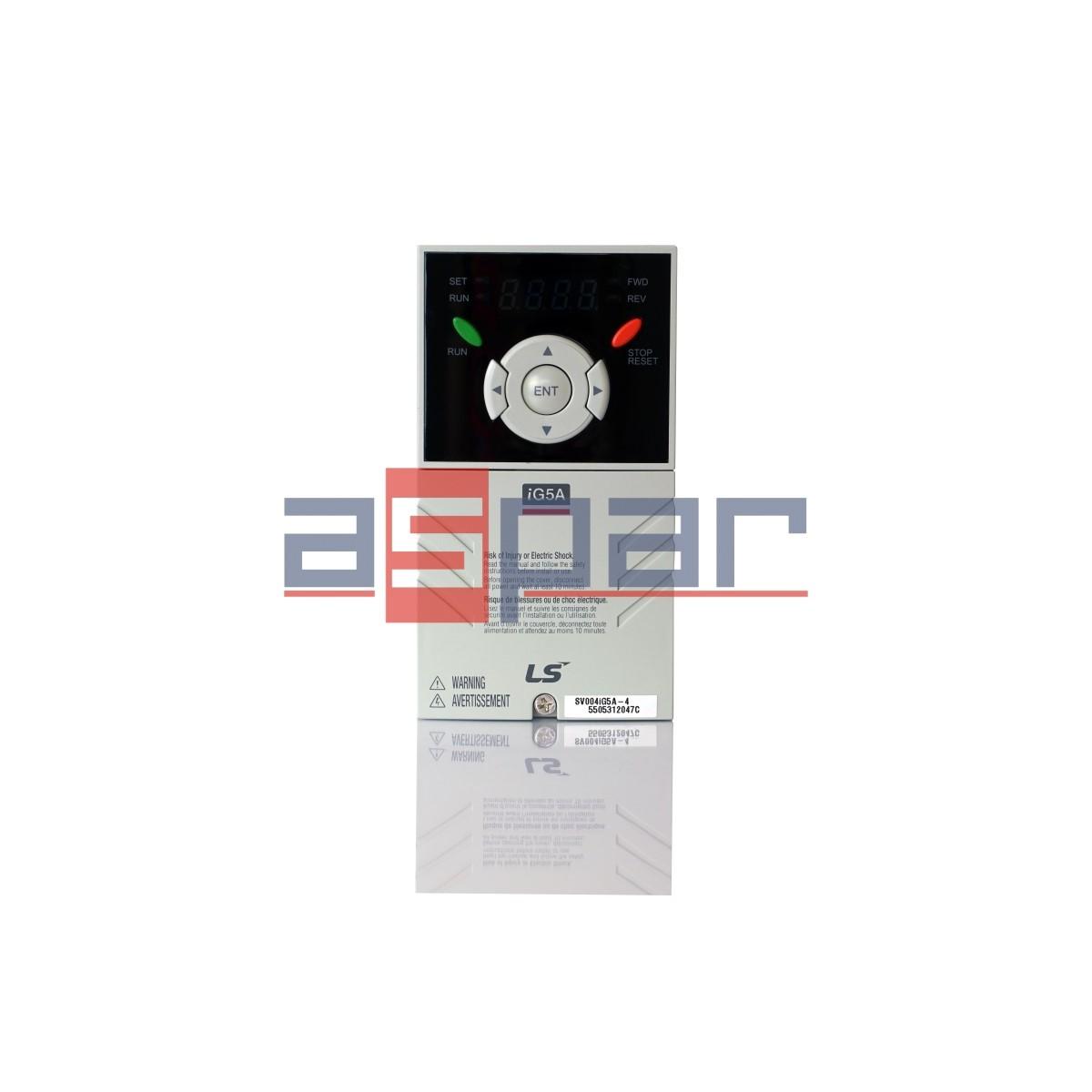 SV004iG5A-4 - 0,4kW, 3~