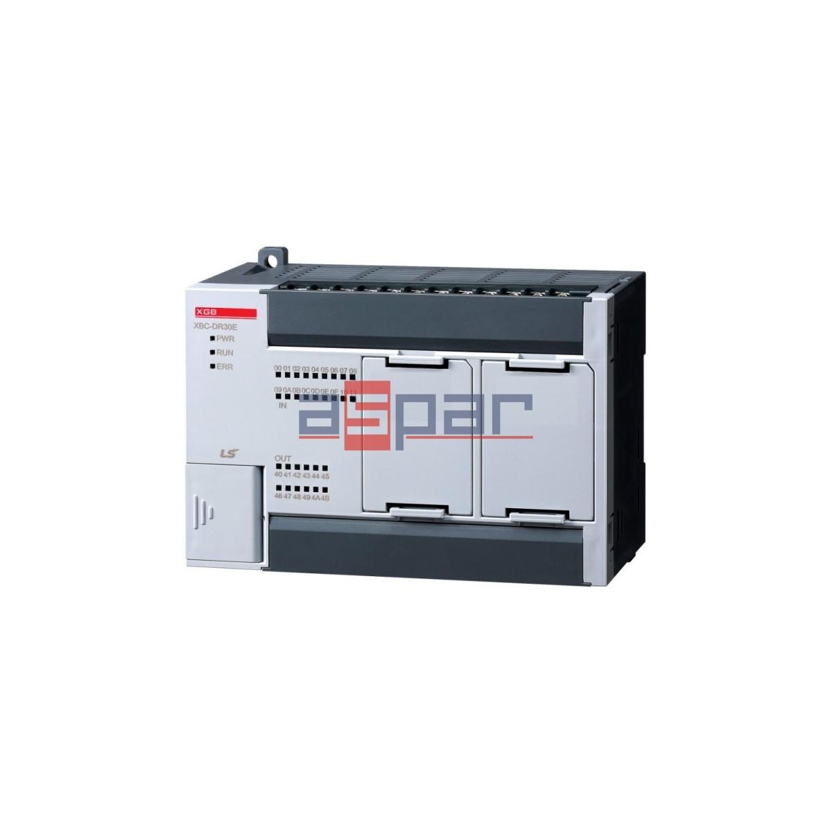 XBC-DR30E - CPU 18 I/12 O relay