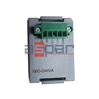 XBO-DA02A - 2 analogue outputs