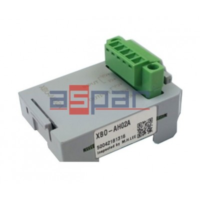 XBO-AH02A - 1 analog input / 1 analog output