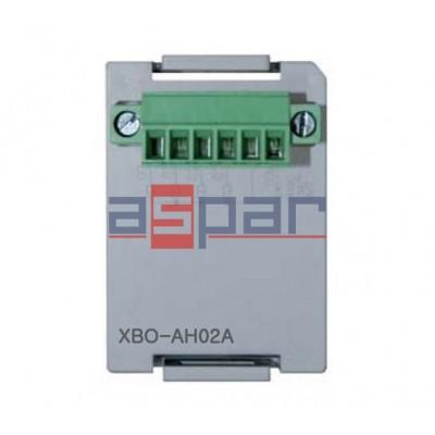 XBO-AH02A - 1 wejście / 1 wyjście analogowe