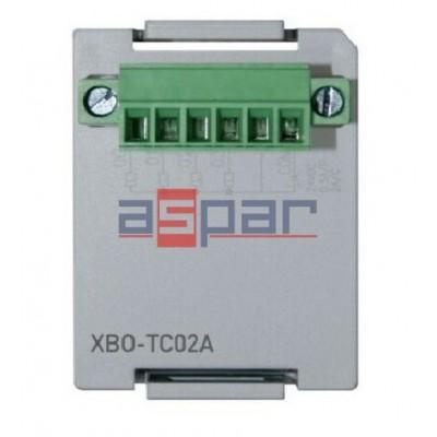 XBO-TC02A - 2 wejścia termoparowe