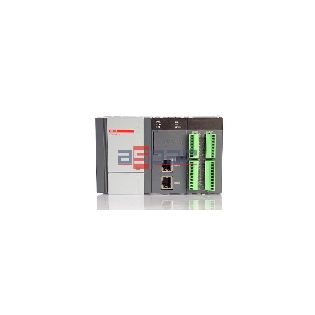 XBC-DR28U - 16 I/12 O relay, ethernet