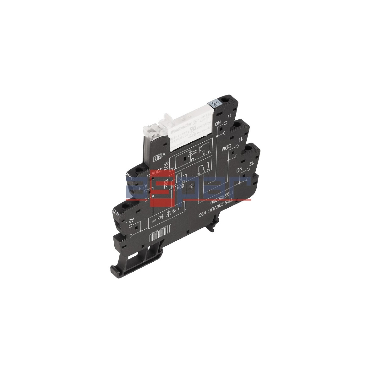 Relay, TRS 230VUC 1CO - 1122820000, 1CO, 6A, 230VAC/DC