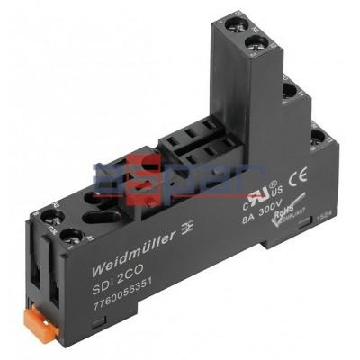 Relay, ZEST-DRI-LD-24DC-2CO-5A, 2CO, 5A, 24VDC, SDI 2CO (7760056351)