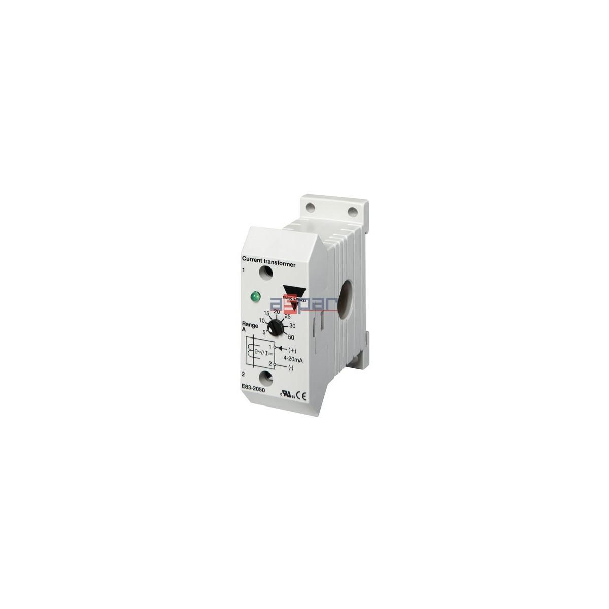 Przekładnik prądowy 50A / 4-20mA, E83-2050