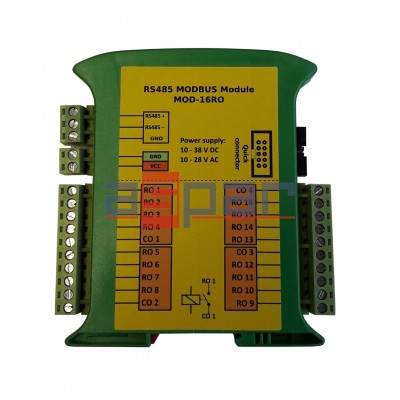 16 relay outputs  MOD-16RO