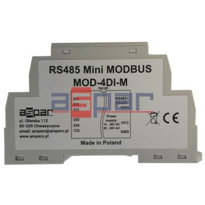 4 digital inputs with memory, MOD-4DI-M