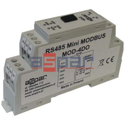 4 digital outputs MOD-4DO