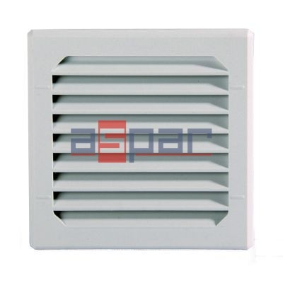 GV 80 - exhaust grille with filter, 80 x 80mm