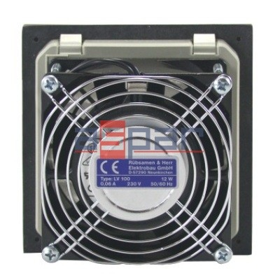 LV 100 230VAC - wentylator filtrujący, 105 x 105mm