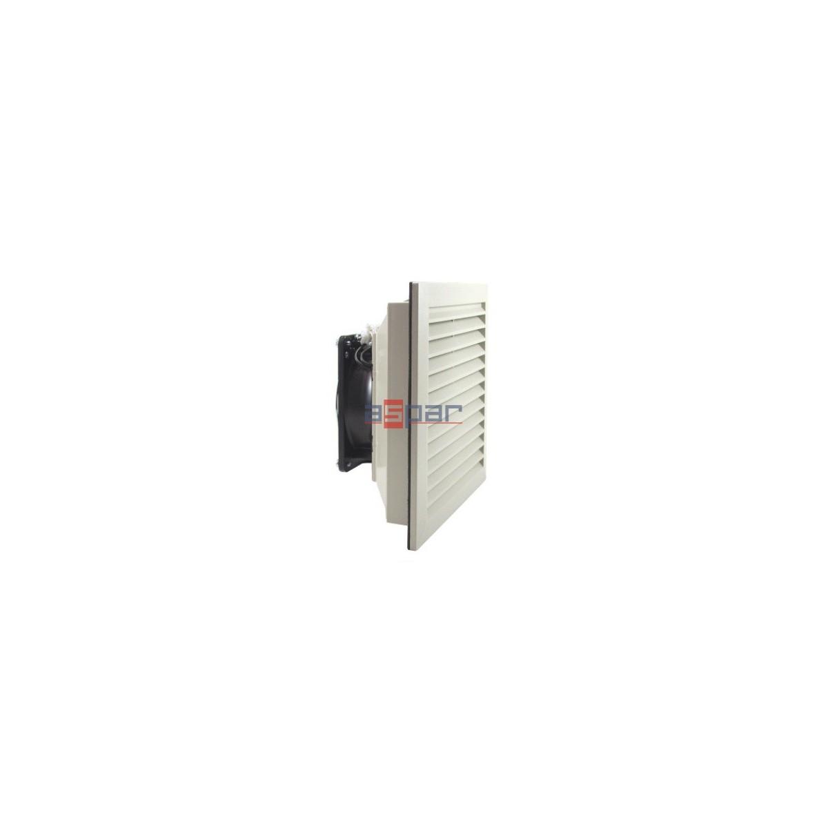 LV 300 230VAC - wentylator filtrujący, 204 x 204mm