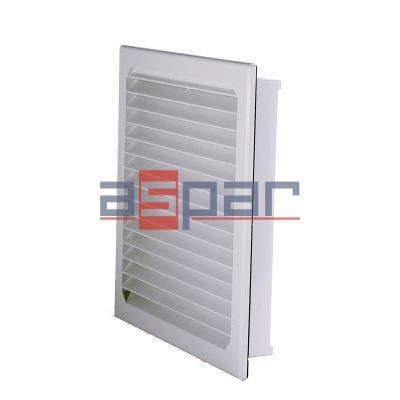 GV 400/500 - exhaust grille with filter, 250 x 250mm