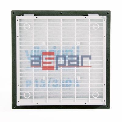 GV 400/500 - kratka z filtrem, 250 x 250mm