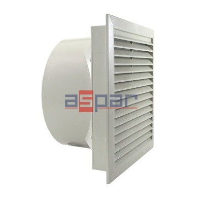 LV 500 230VAC - sucking - filter fan, 250 x 250mm