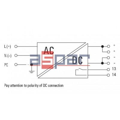 switch-mode power supply unit, 24 V, PROeco 72W 24VDC 3A