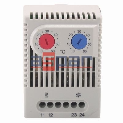 TOS 60 - podwójny termostat...