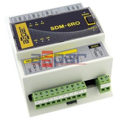 SDM-6RO - 6 relay outputs