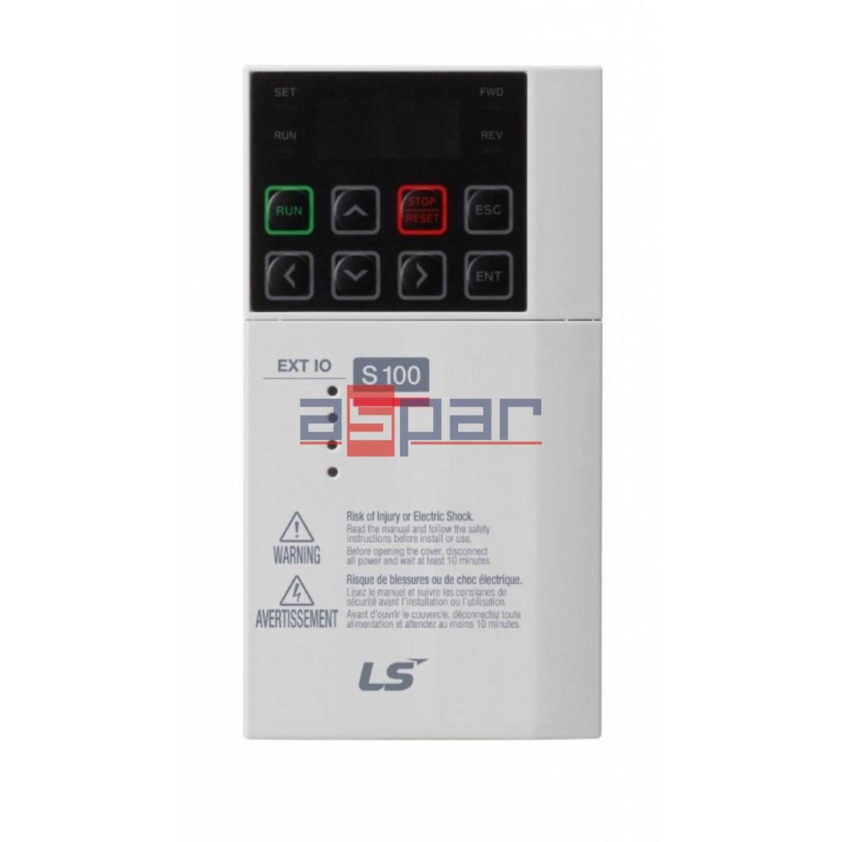 LV-S100 I/O EXT