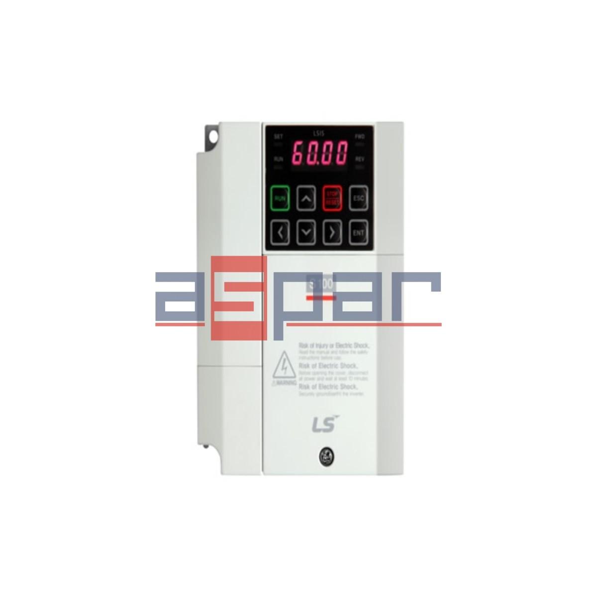 LSLV0015S100-4EOFNM - 1,5kW, 3~