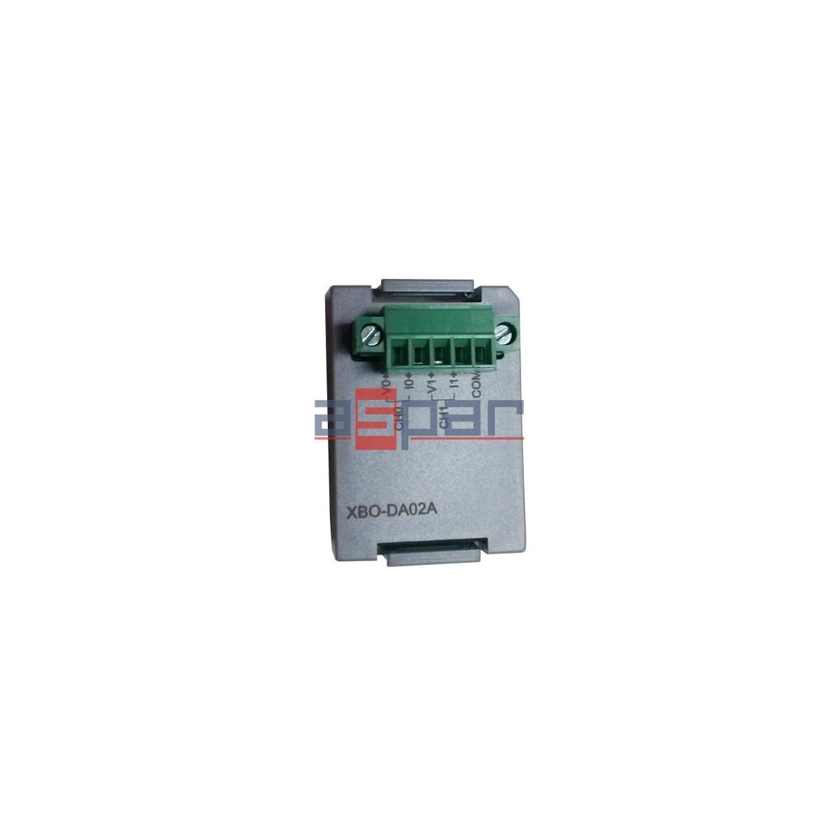 XBO-DA02A - 2 analogue outputs