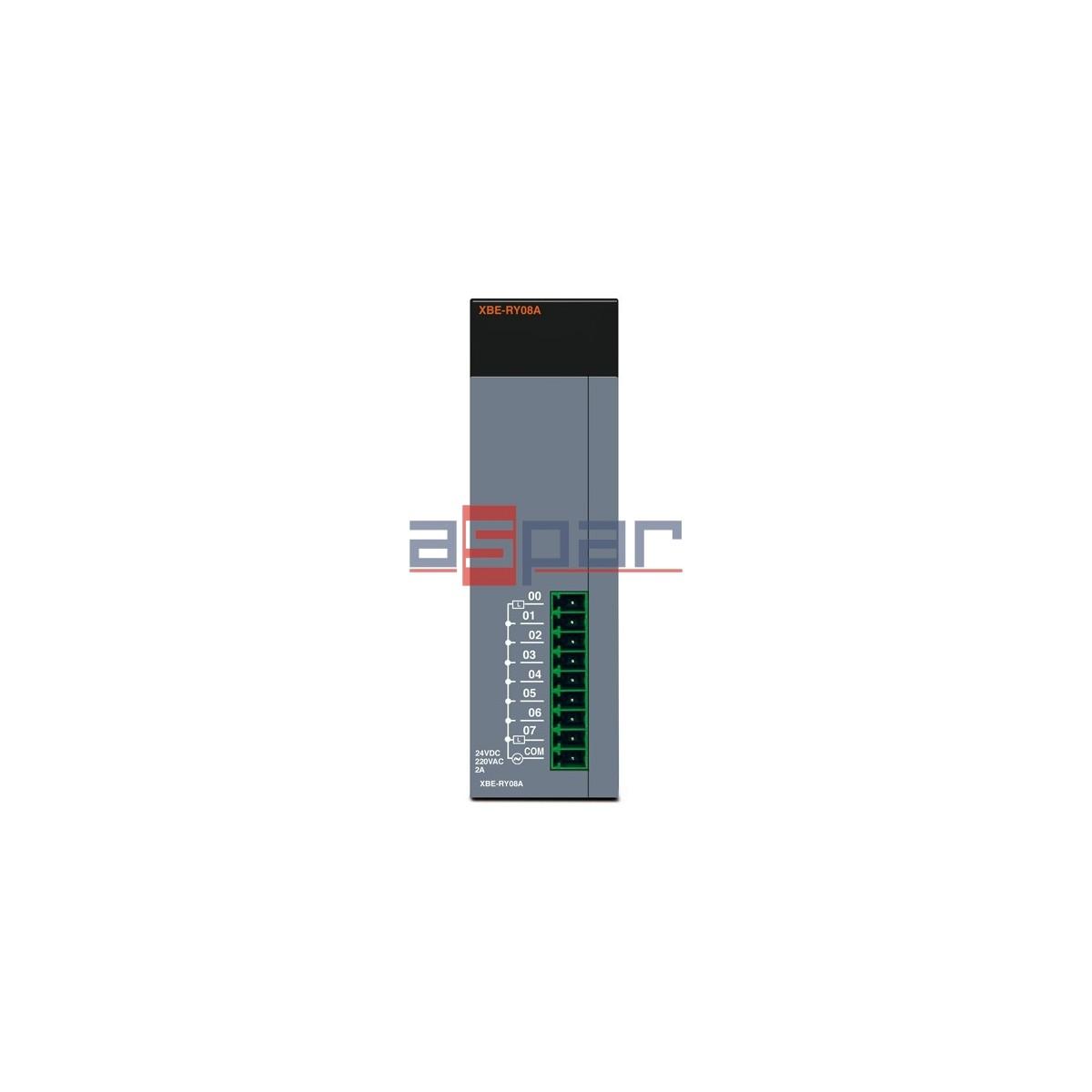 XBE-RY08A - 8 wyjść przekaźnikowych