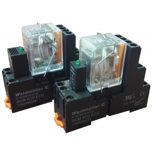 Industrial electromagnetic relays